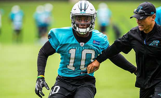 Curtis Samuel out for year with ligament damage in ankle