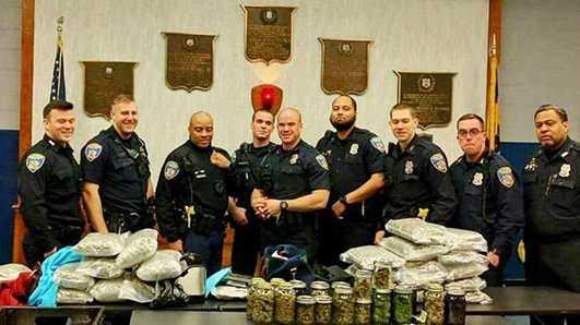 Baltimore marijuana bust