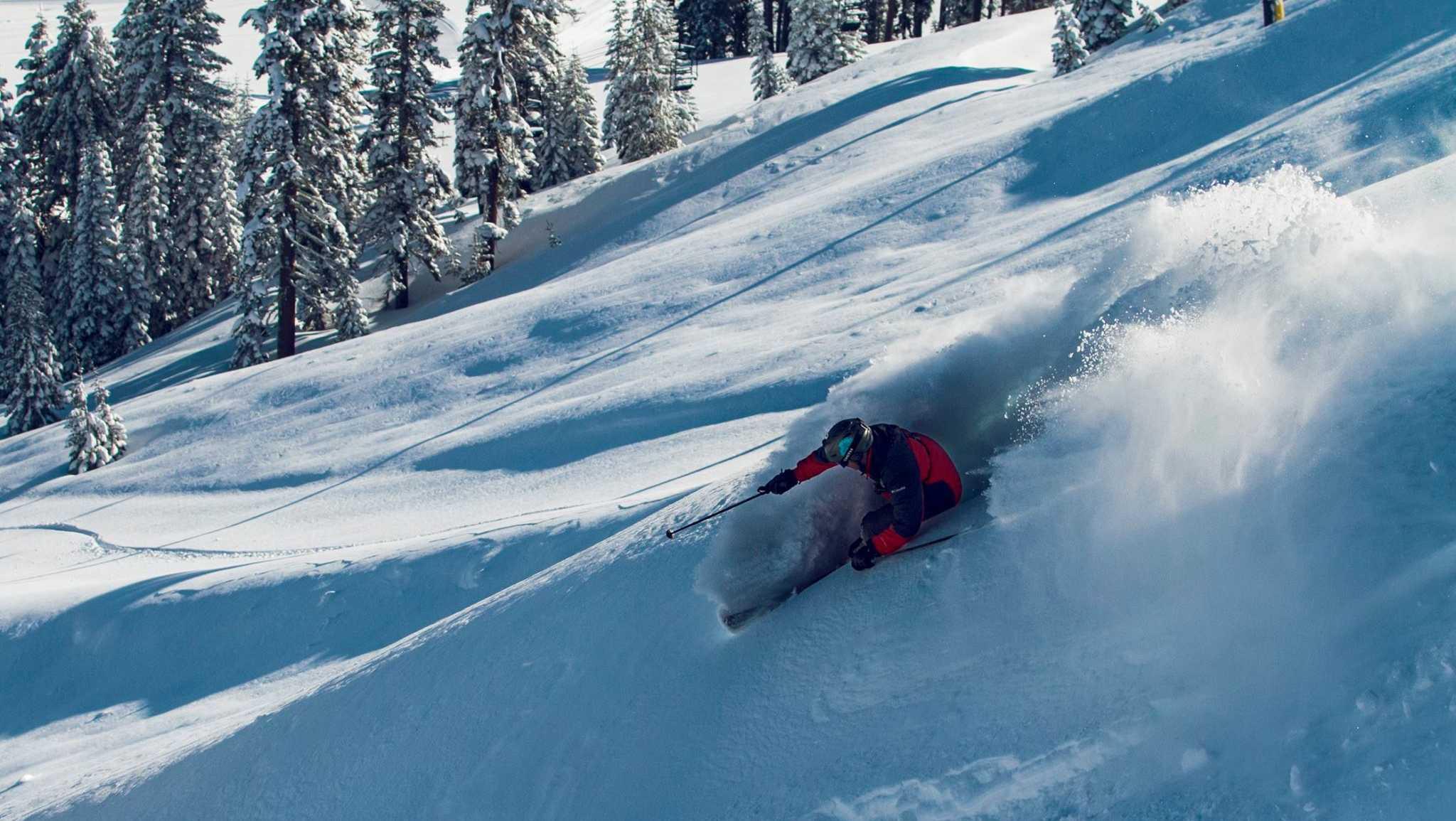 Brian Hickey skiing at Sugar Bowl