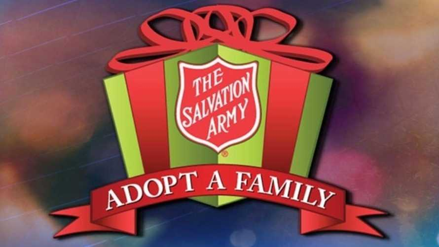 Adopt a Family with the Salvation Army