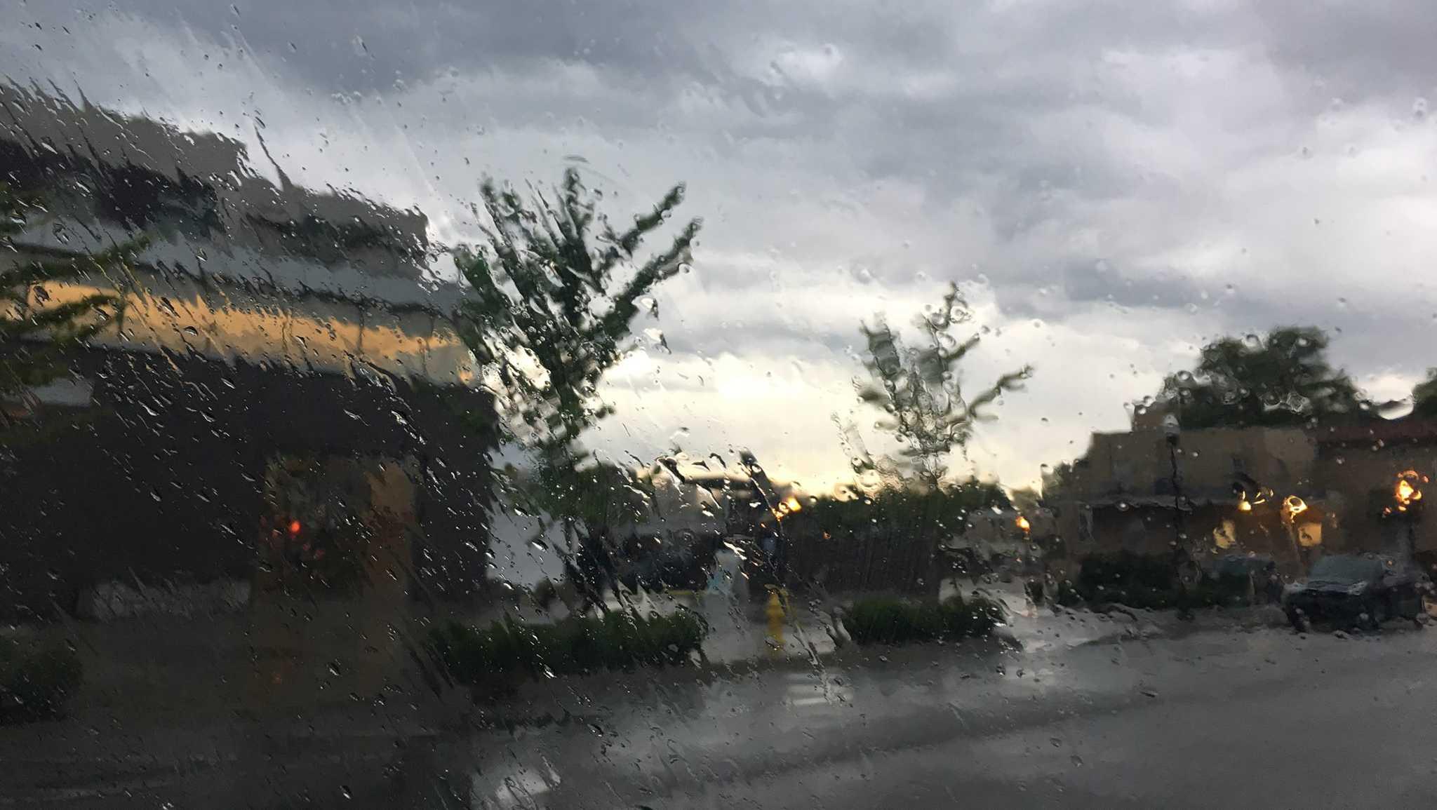 Rain in Bentonville