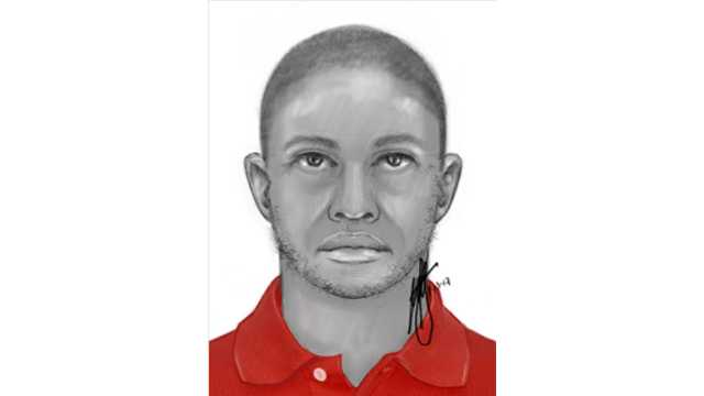 St. Paul Street rape suspect sketch