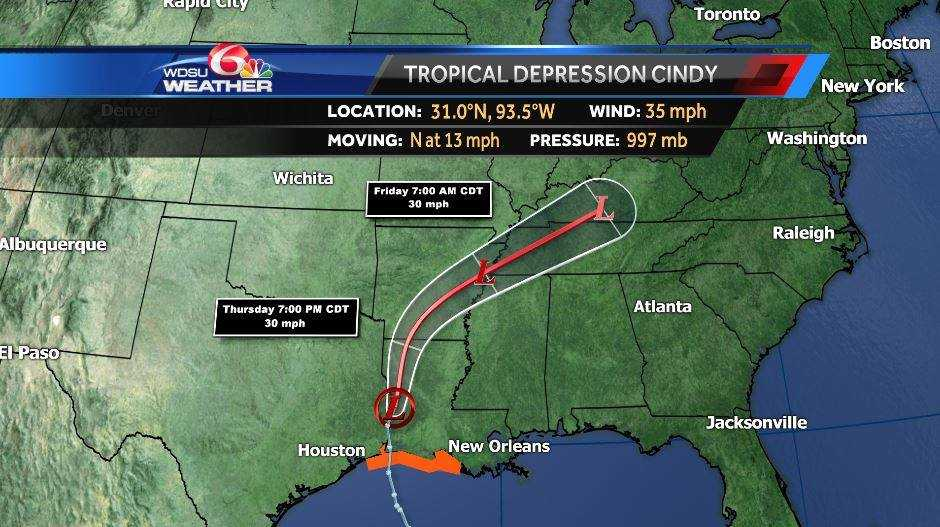 Tracking severe weather and possible flooding