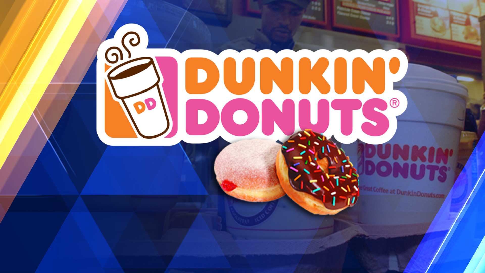 You can get a Frozen Dunkin' Coffee for free today