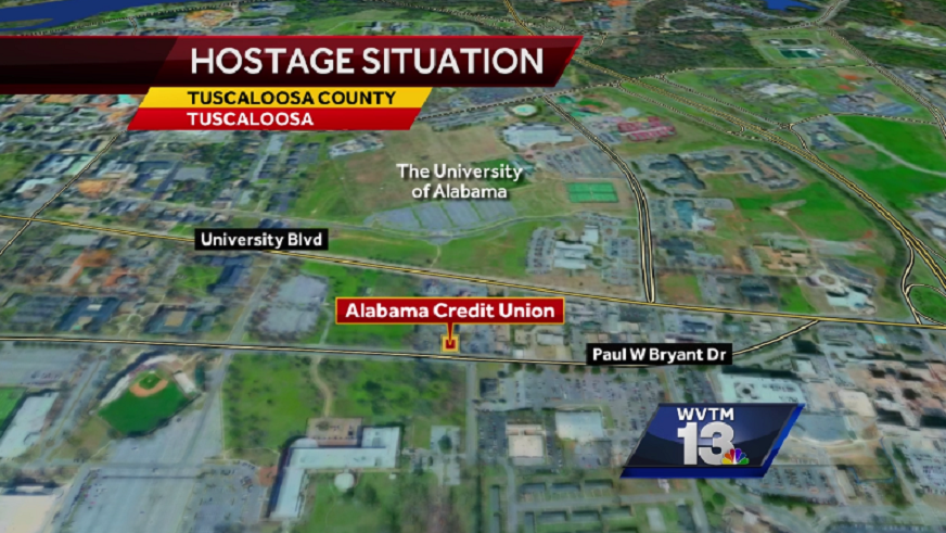 Hostage situation in Tuscaloosa