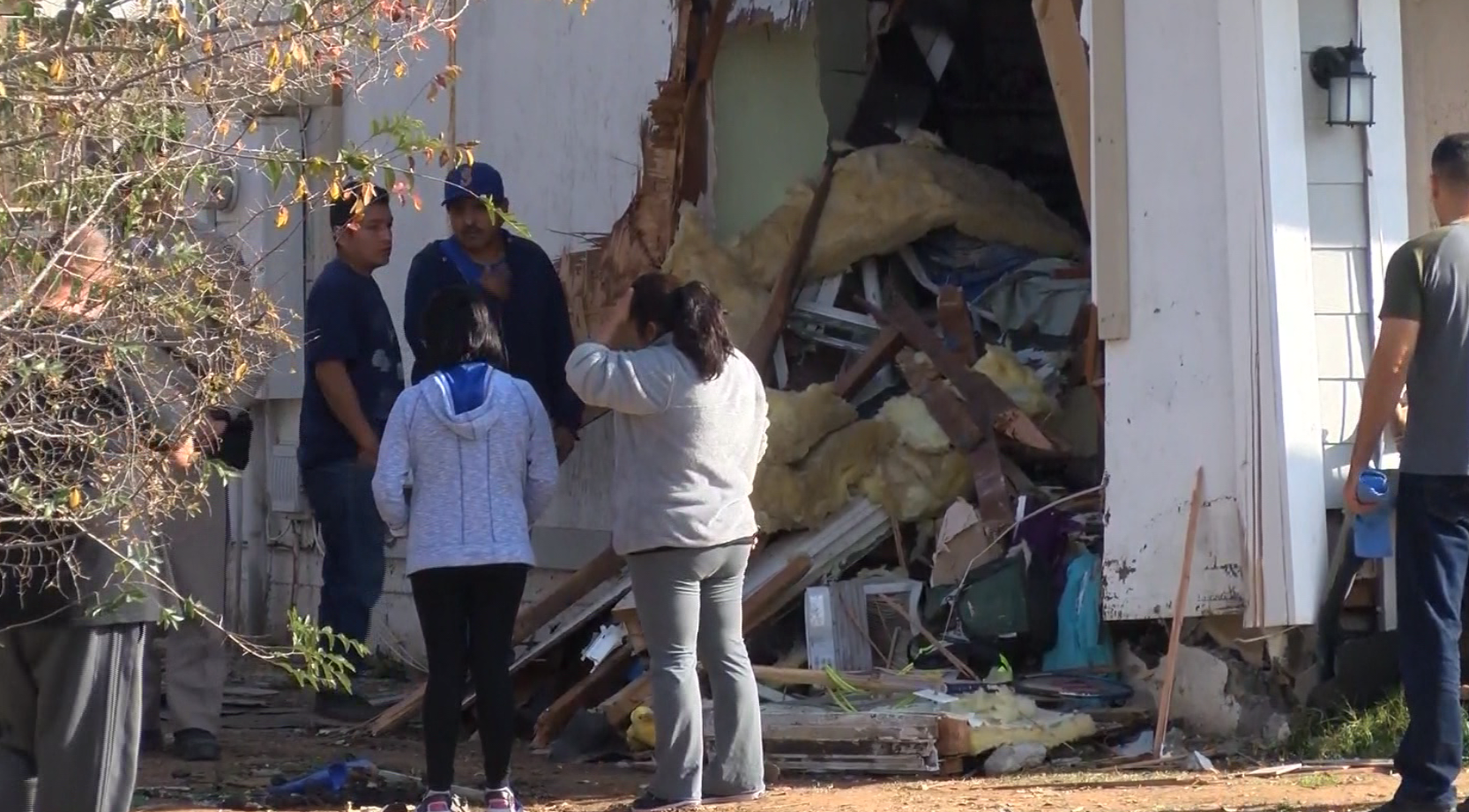 11-year-old killed after truck crashes into house