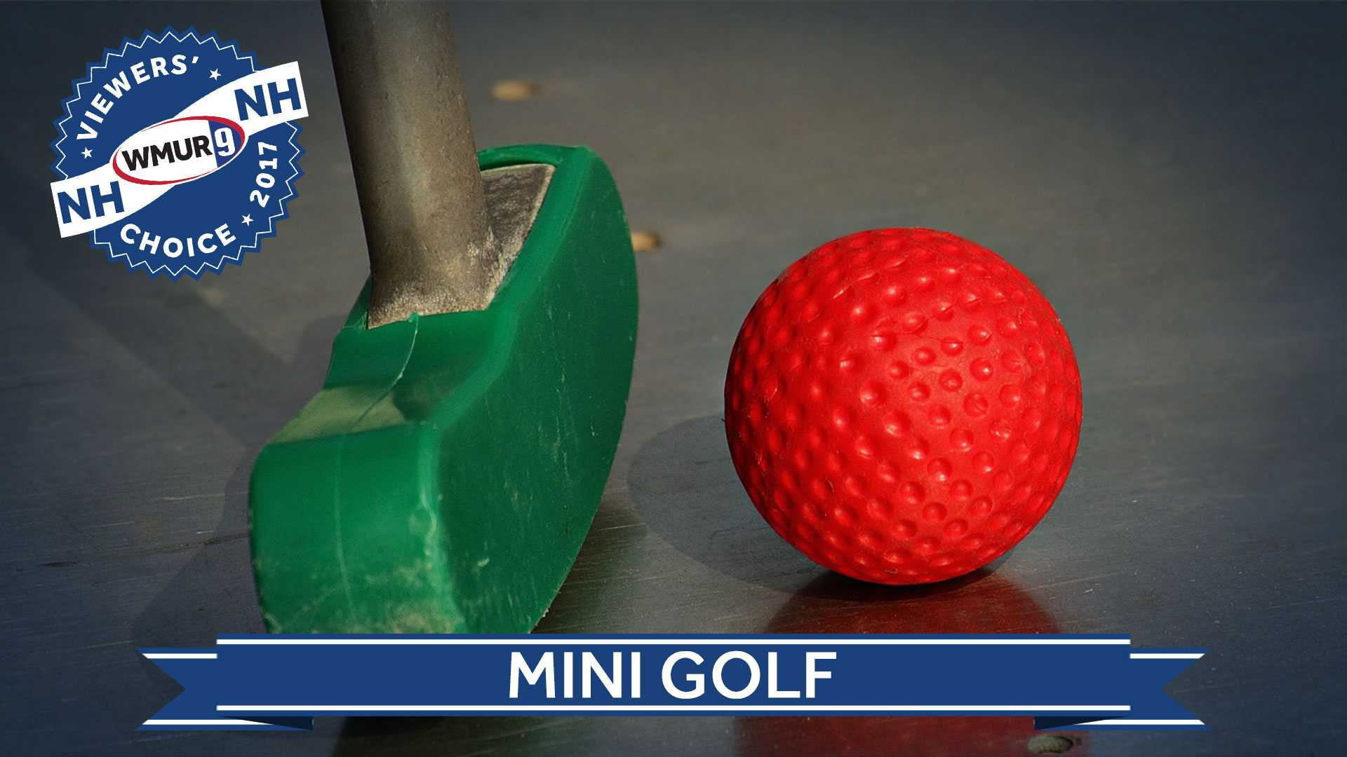 Viewers' Choice mini golf