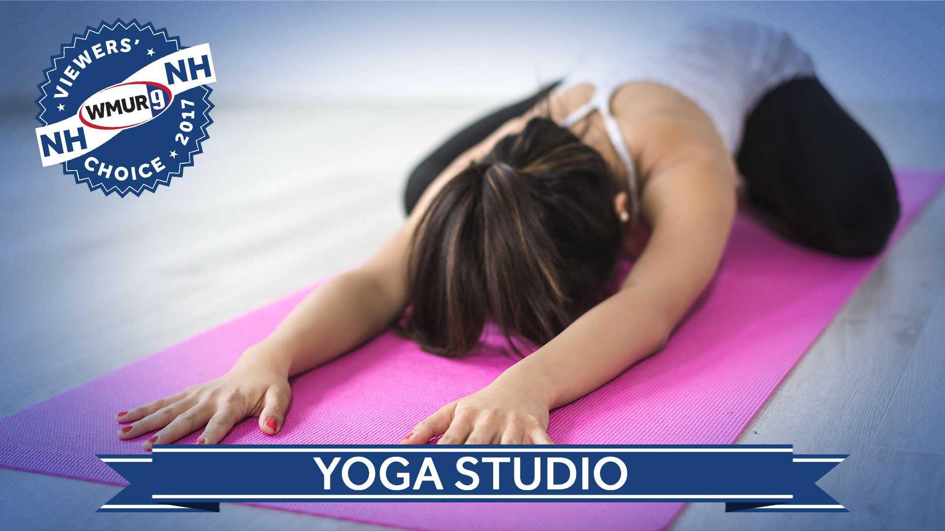 Viewers' Choice yoga studio