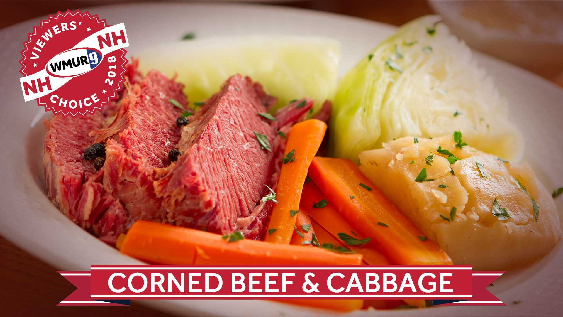 Viewers' Choice Corned Beef and Cabbage
