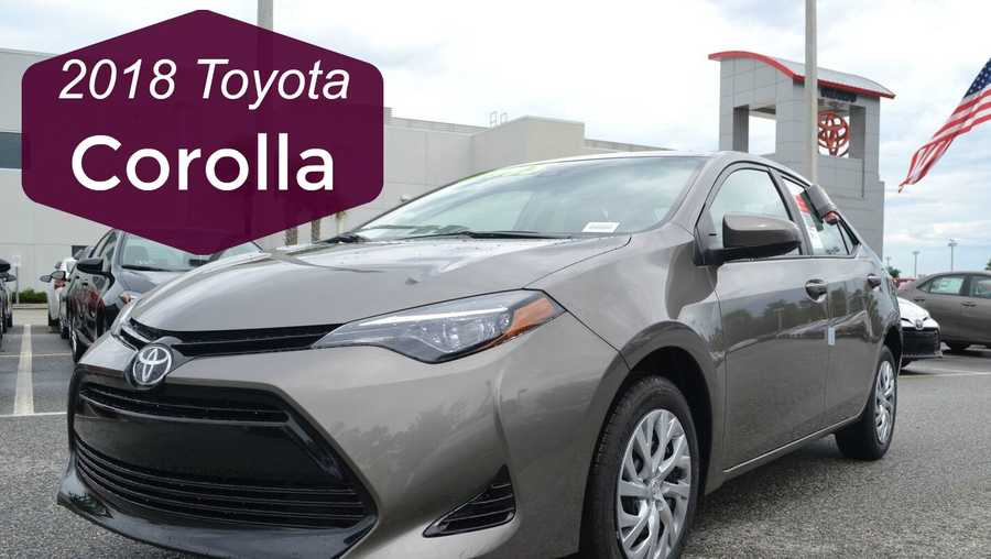 meet the new 2018 toyota corolla at toyota of clermont. Black Bedroom Furniture Sets. Home Design Ideas