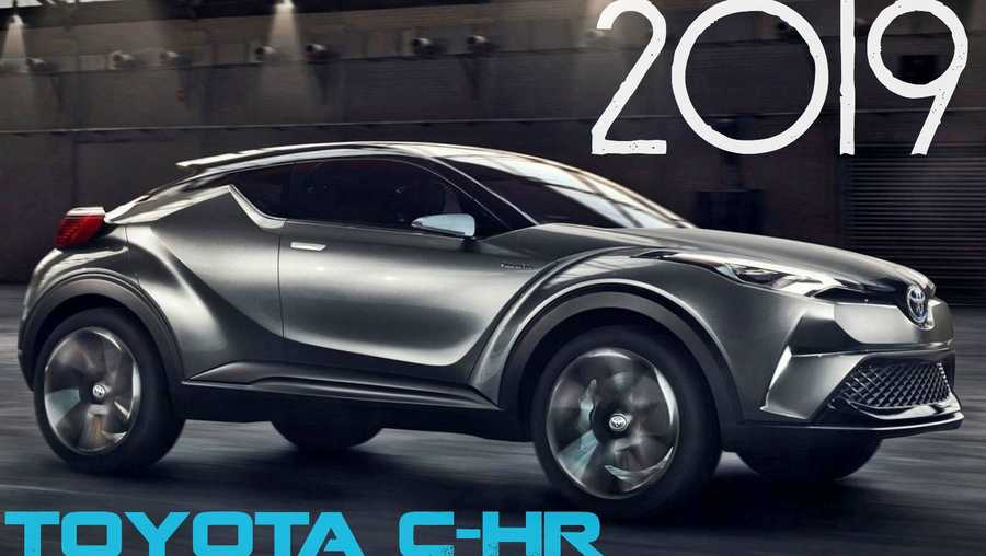 First Look At The New 2019 Toyota C Hr