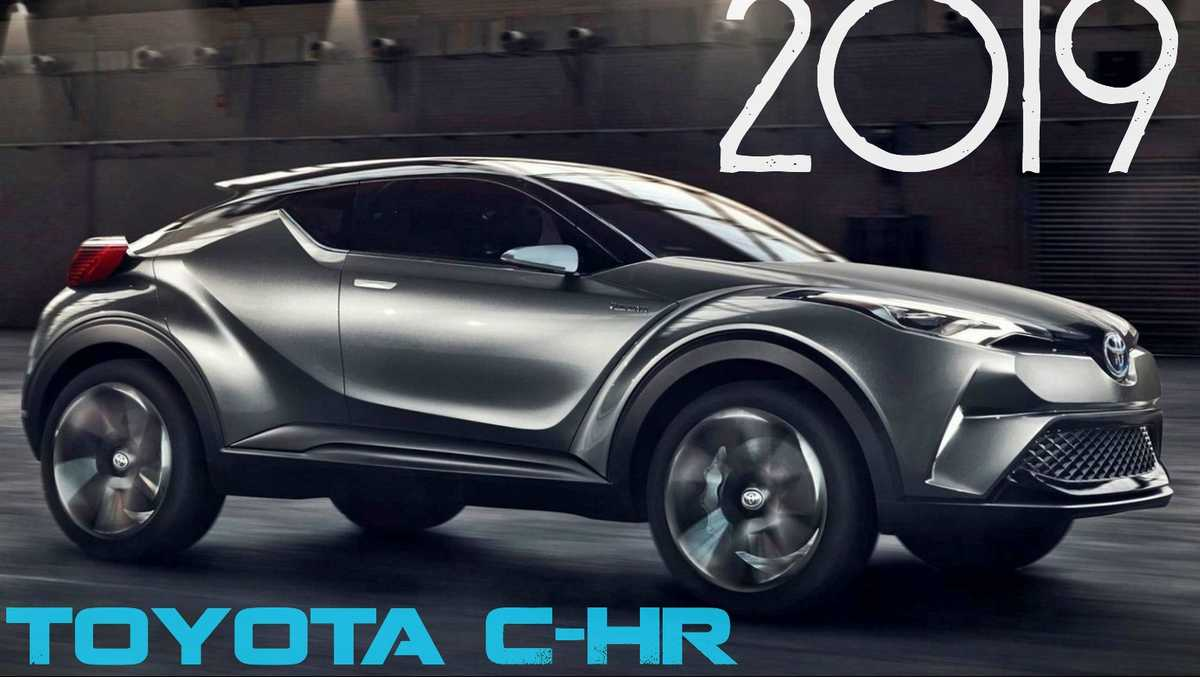 First look at the new 2019 Toyota C-HR