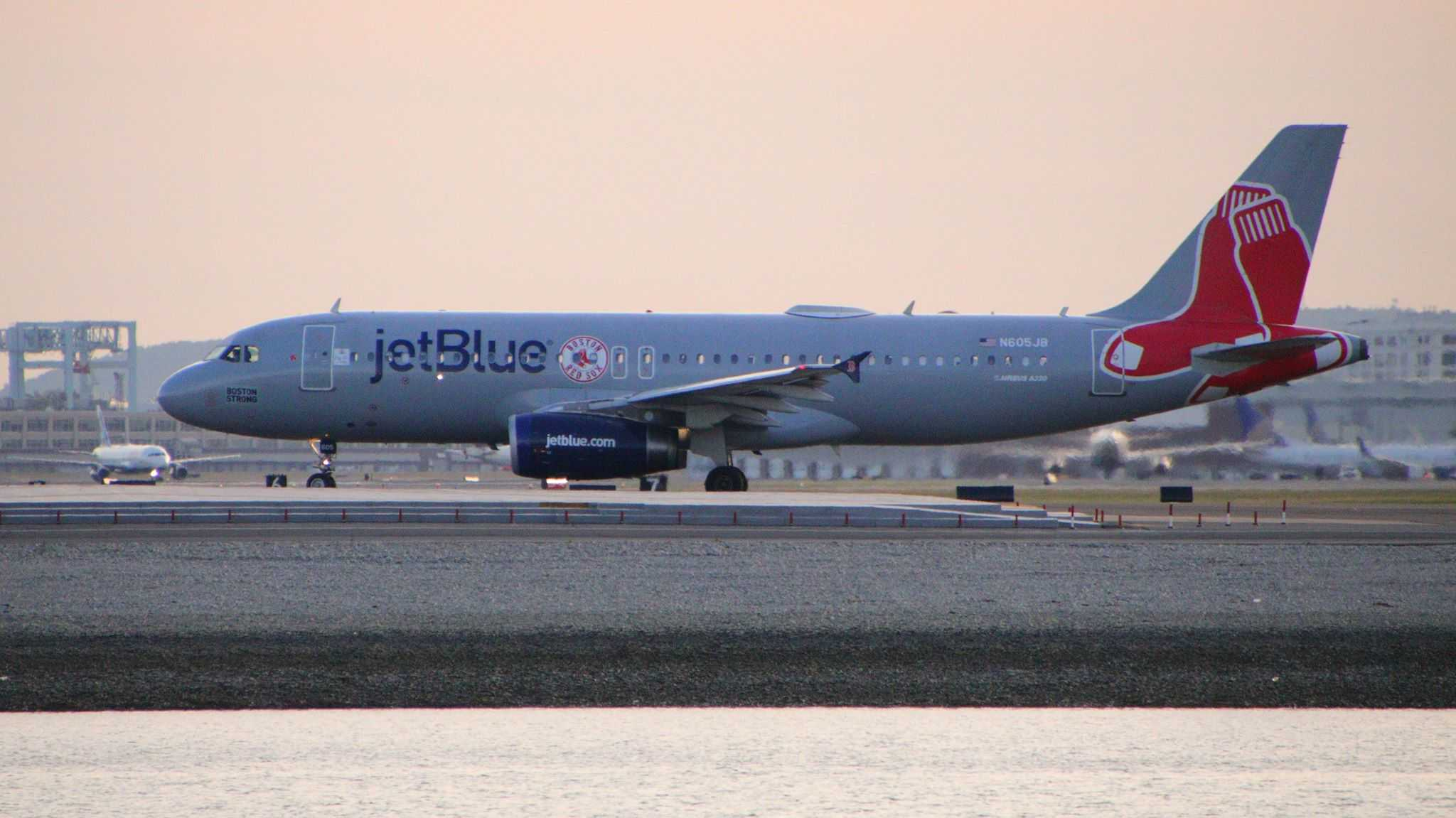 JetBlue plane hits birds after take off in Boston