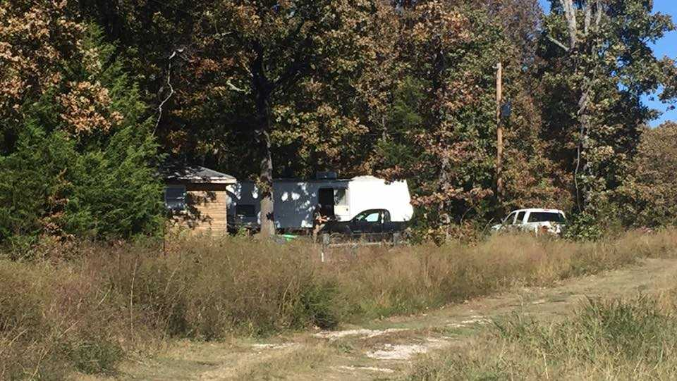 The man was found in a neighbor's driveway on Highway 100 near Gore.