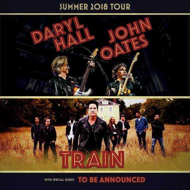 Hall & Oates, Train brining co-headlining tour to Austin