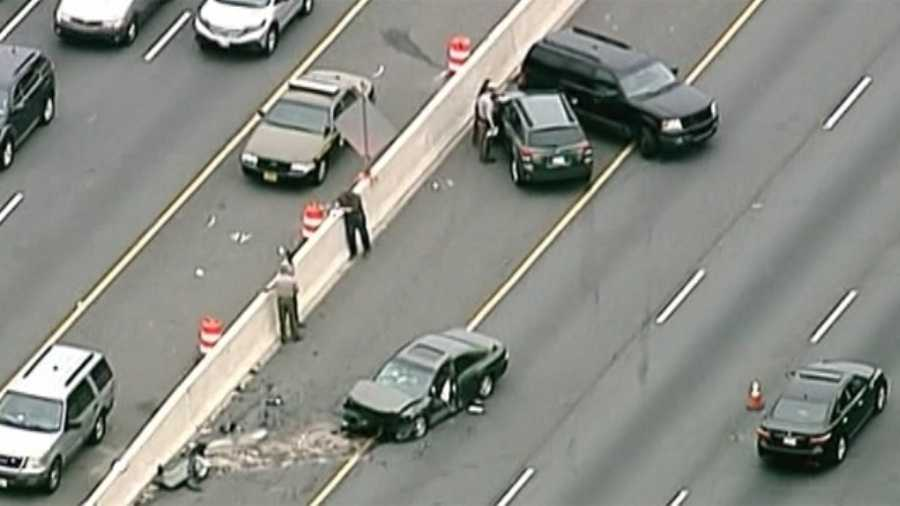 Crash on Capital Beltway