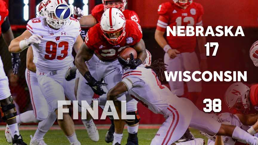 Nebraska's night magic disappears in rout by Wisconsin