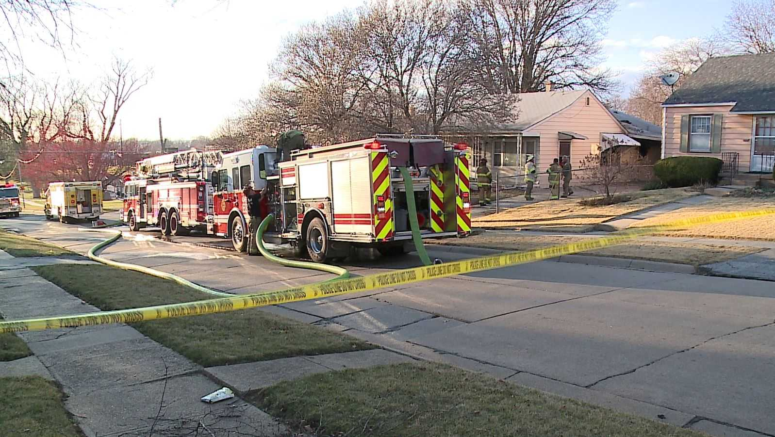 39th and W House Fire