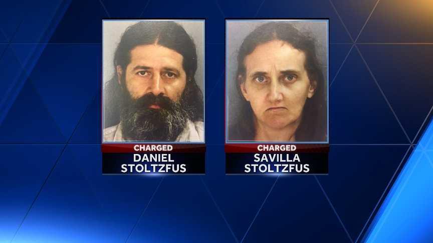 Pair accused of gifting daughters to older man enter pleas