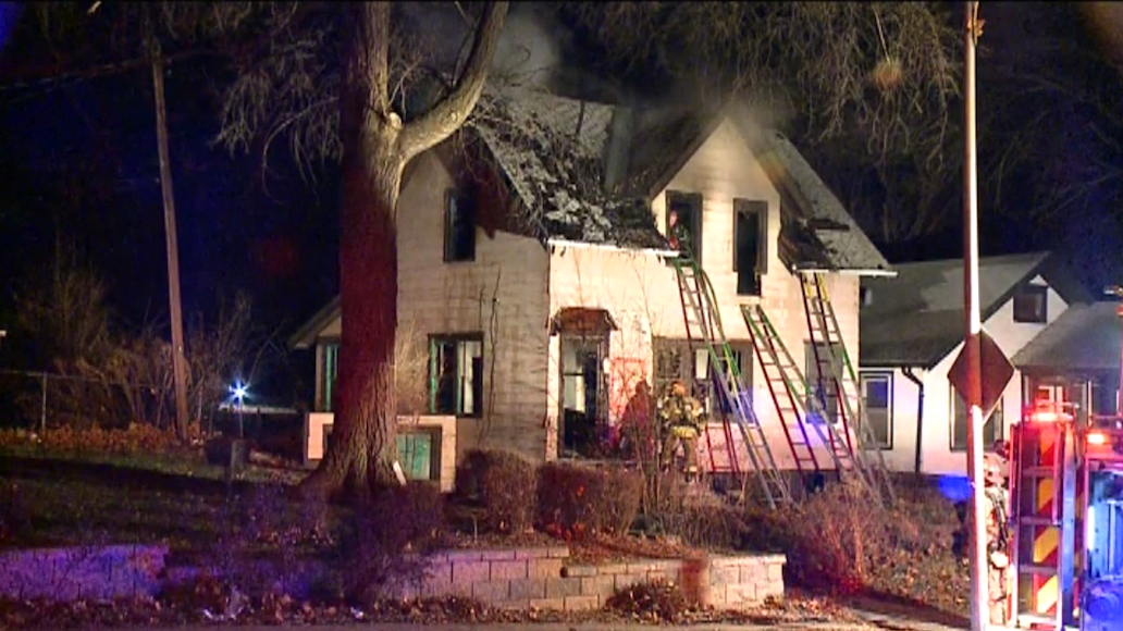 41st, Ames House Fire