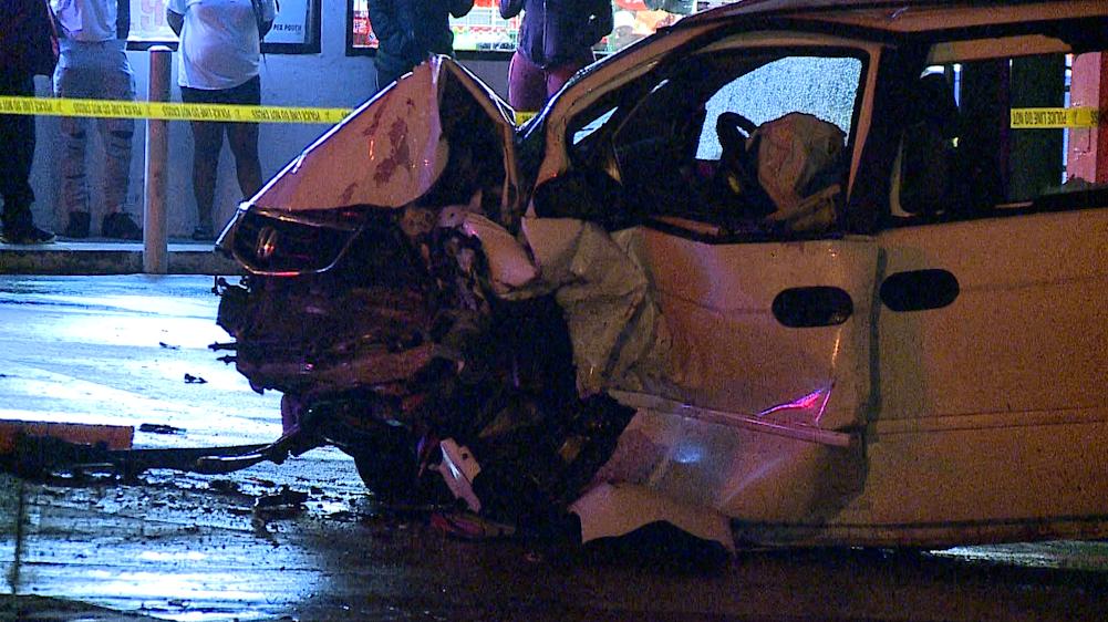 42nd & Ames Ave Crash