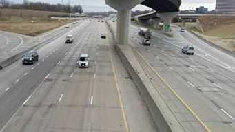 I-435 pothole work