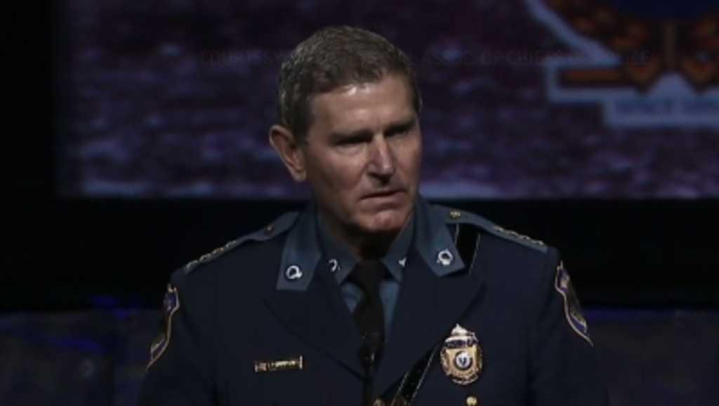 Terrance Cunningham police leader