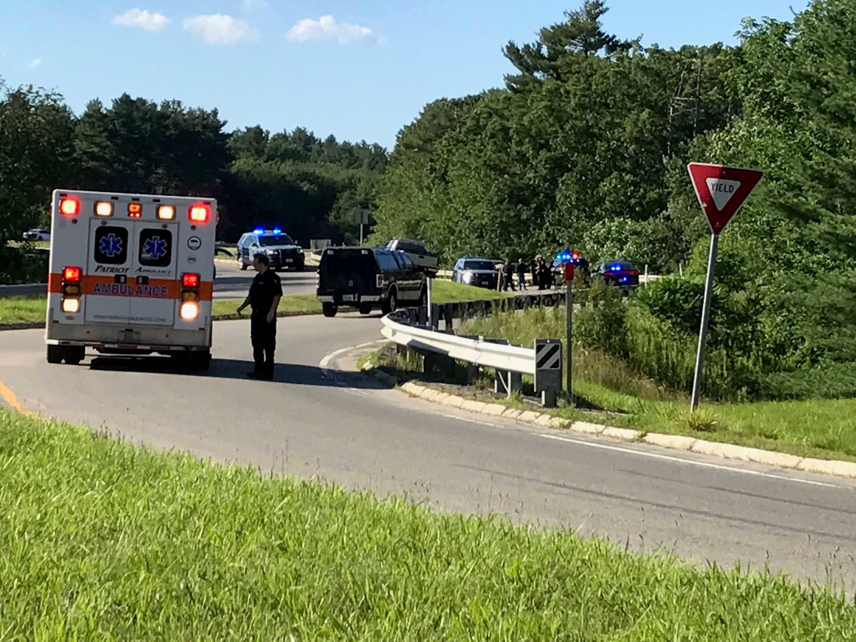 Dead, Another Injured in Bolton Crash