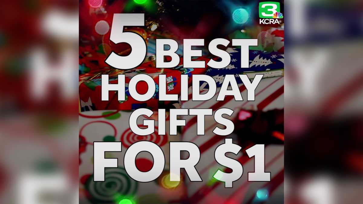 5 best holiday gifts for ONLY $1