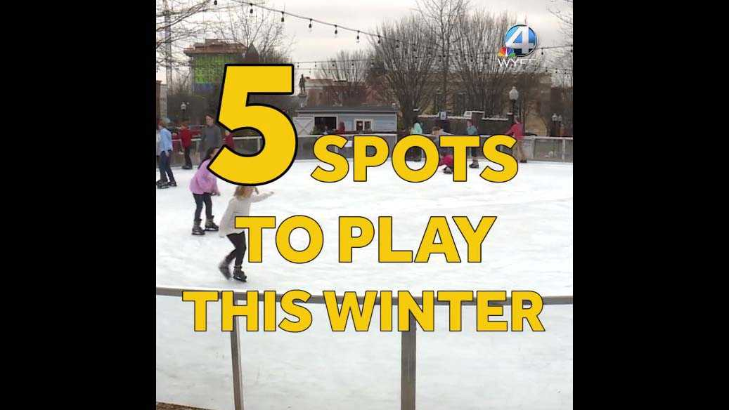 5 spots to play this winter