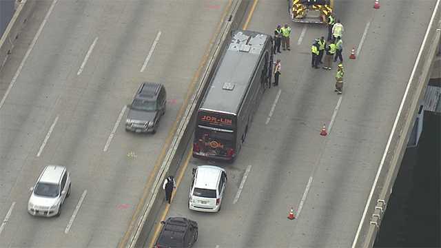 Route 50 bus crash