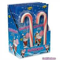 Bubble Gum Candy Canes