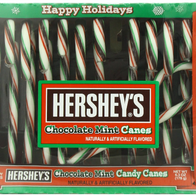 Chocolate Mint Candy Canes