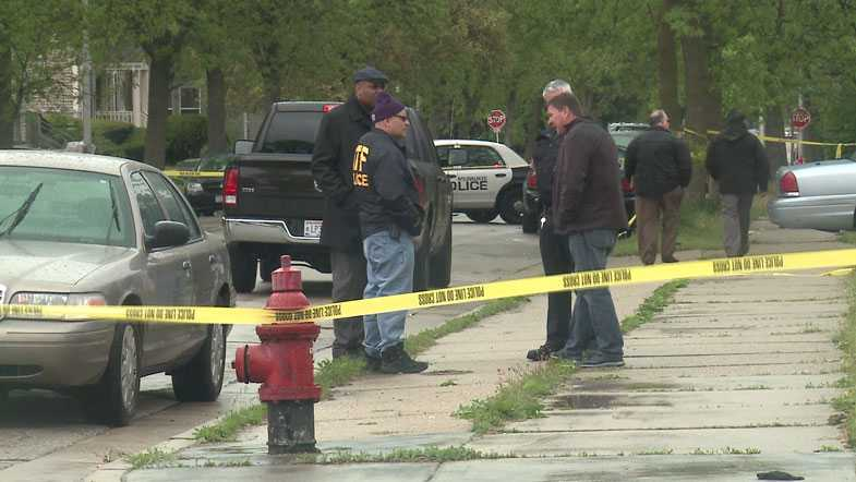 5th Street and North Avenue, ATF afents fires shots