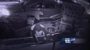 Alabama gun store burglary