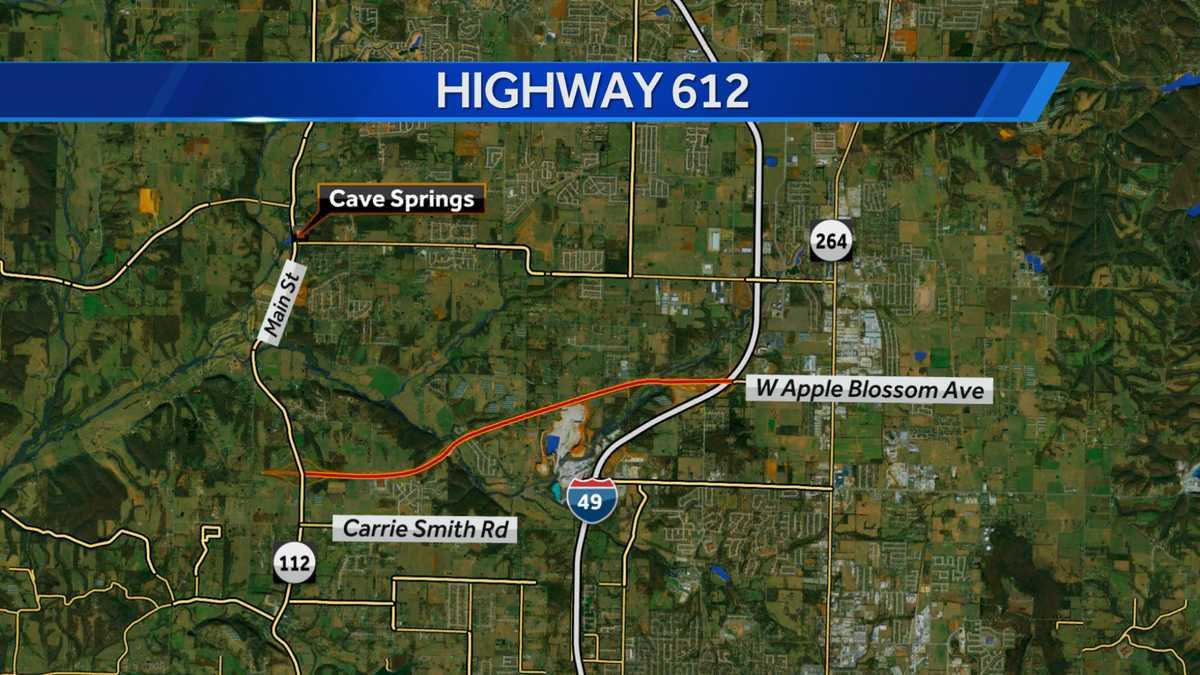 Highway 612 in Springdale to open April 30