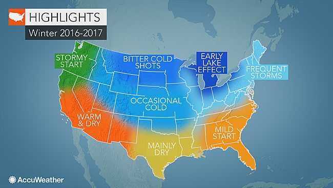 AccuWeather winter outlook