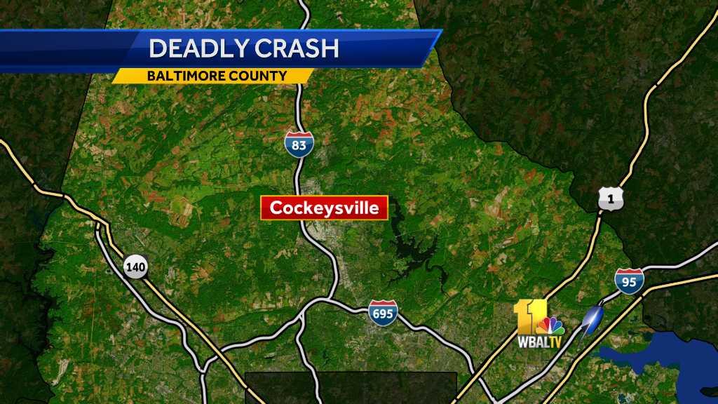 I-83 Cockeysville crash