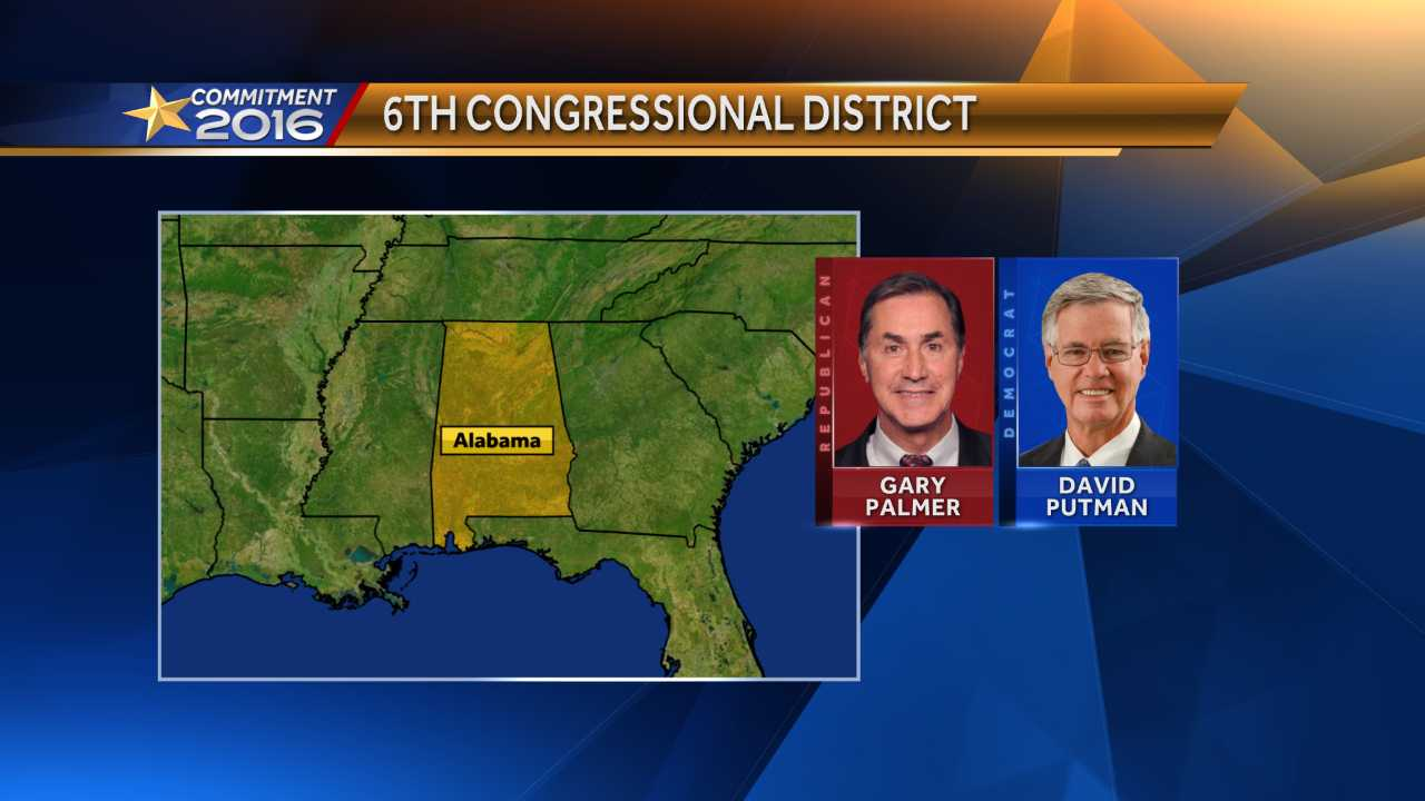 6th Congressional District candidates Gary Palmer and David Putman