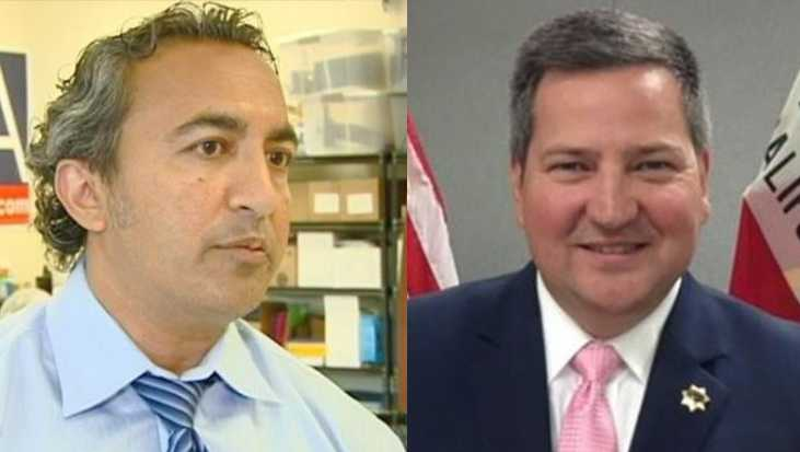 Rep. Ami Bera and Sacramento County Sheriff Scott Jones