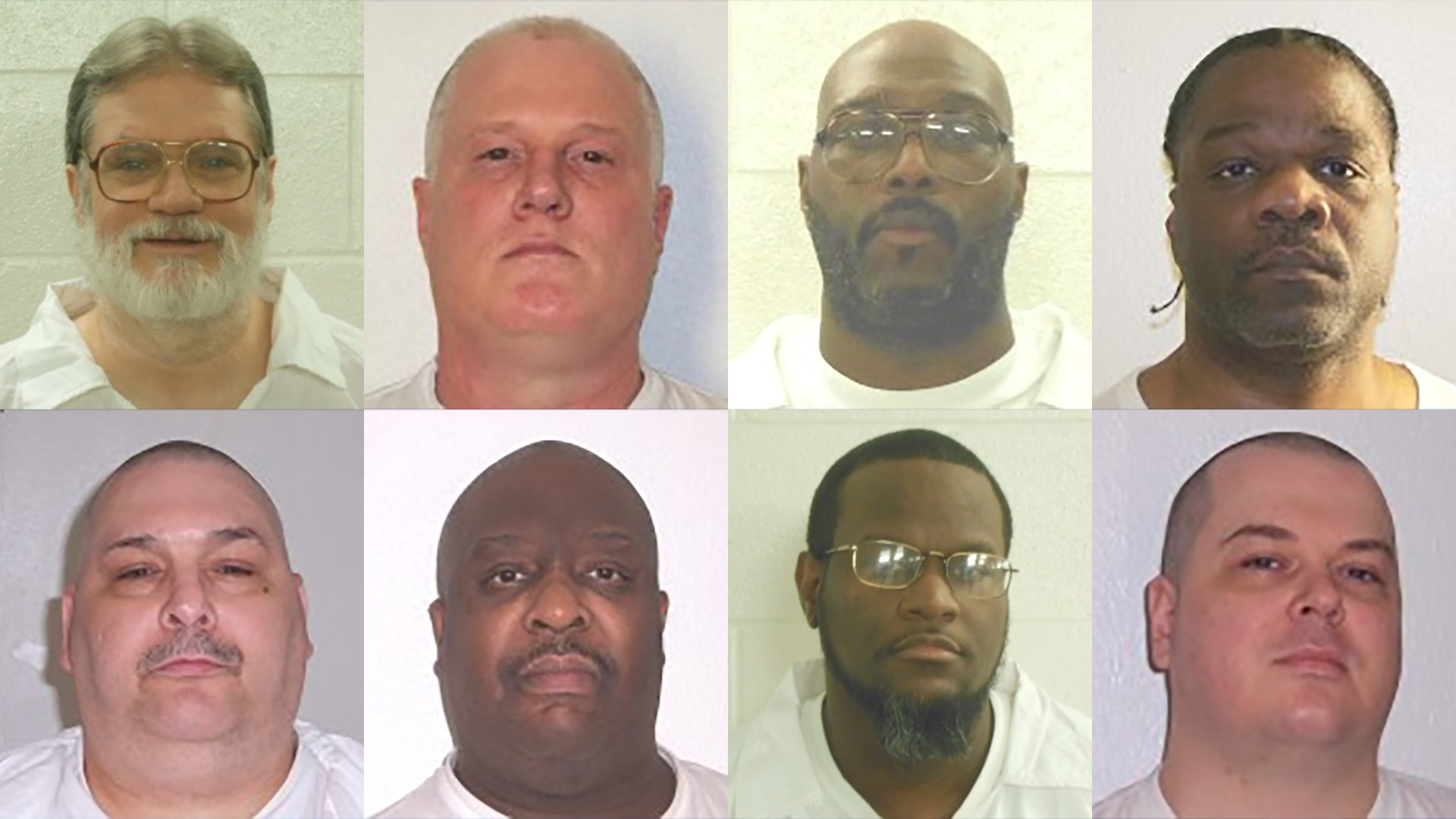 The 8 men scheduled to be executed in April