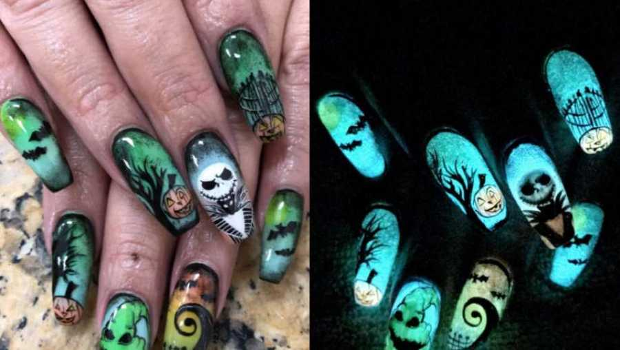 This womans nail art will make you want to drive to texas for a this womans nail art will make you want to drive to texas for a manicure prinsesfo Images