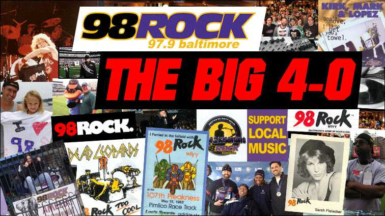 98 Rock turns 40