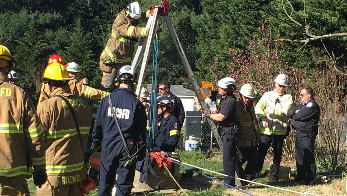 Anne Arundel County well rescue