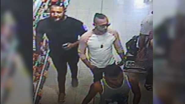 UK Police have released a photo of three men they want to speak to after a three-year-old boy was seriously injured in a suspected acid attack in a Worcester shop on July 21.