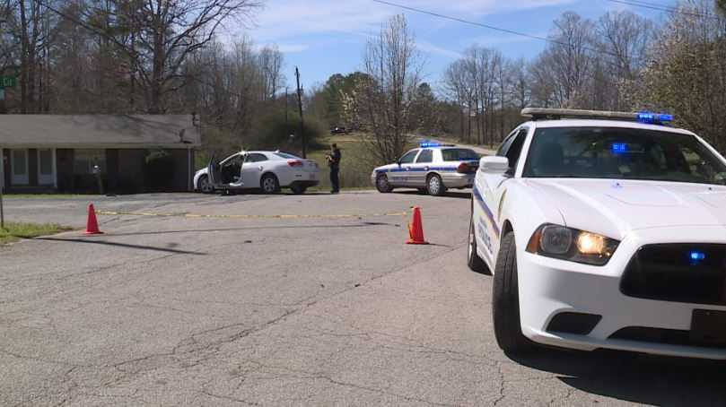 Adamsville shooting scene