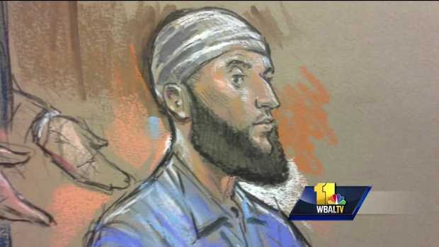 Adnan Syed court sketch