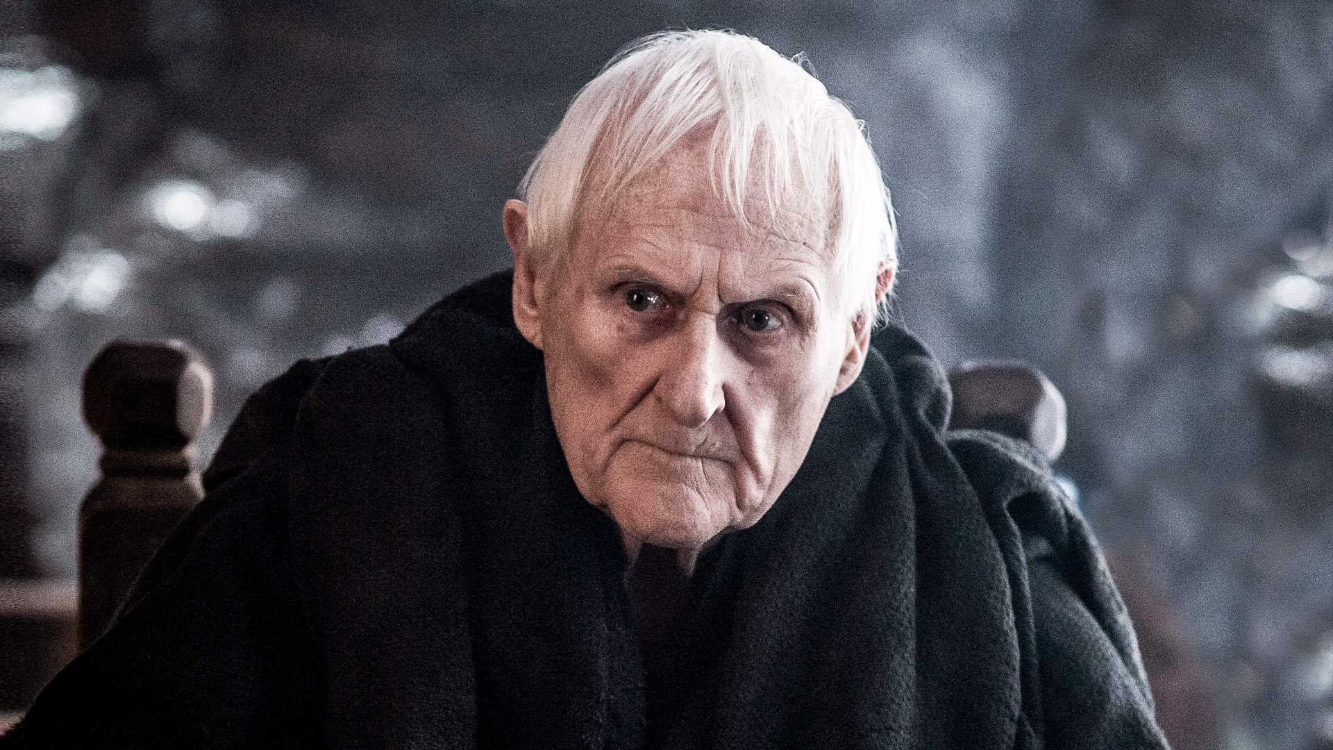 Maester Aemon, played by Peter Vaughan