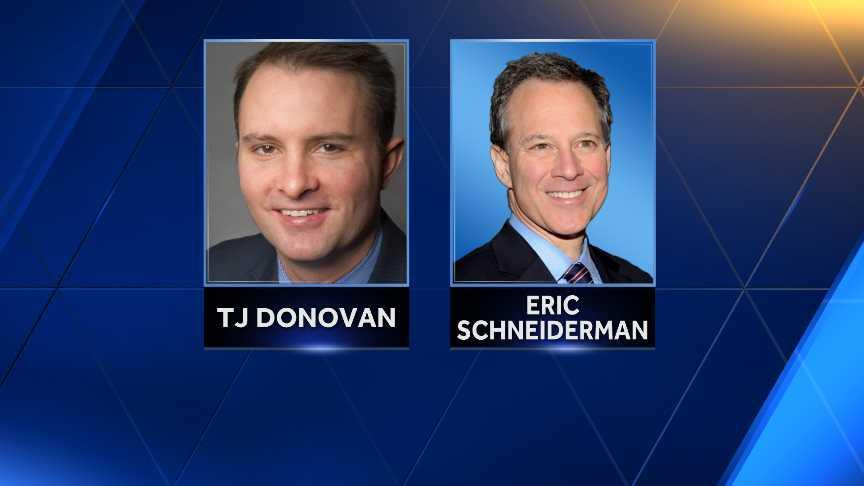 TJ Donovan & Eric Schneiderman
