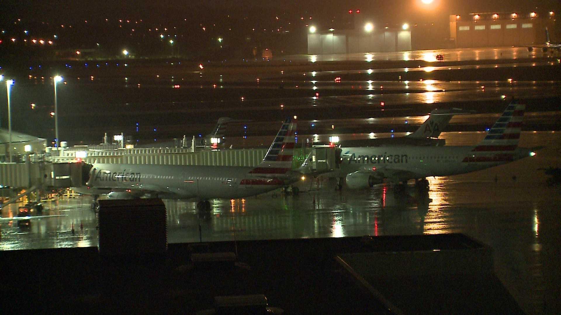 Mitchell International Airport flights diverted